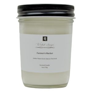 patchouli scented candle