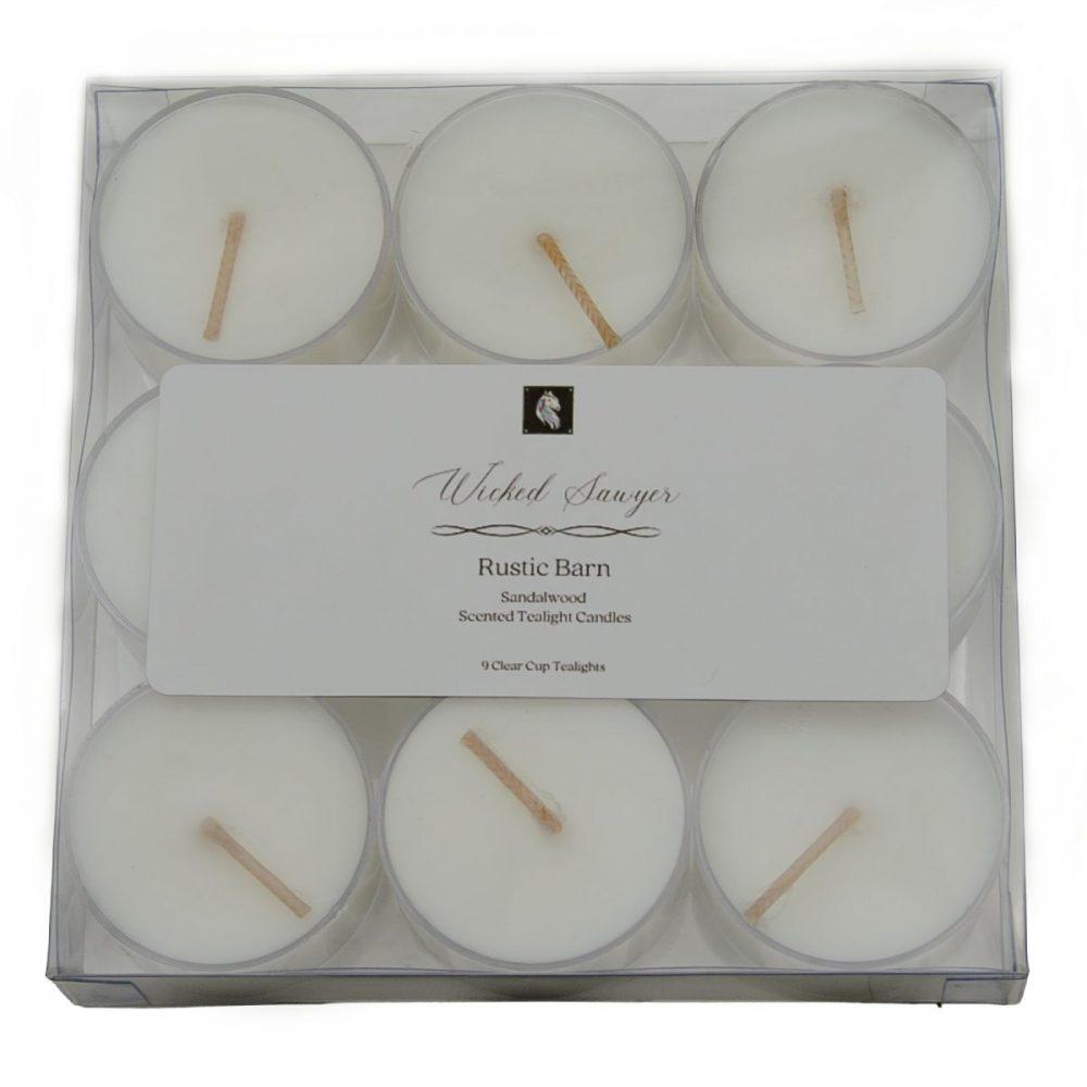 sandalwood tea light candles