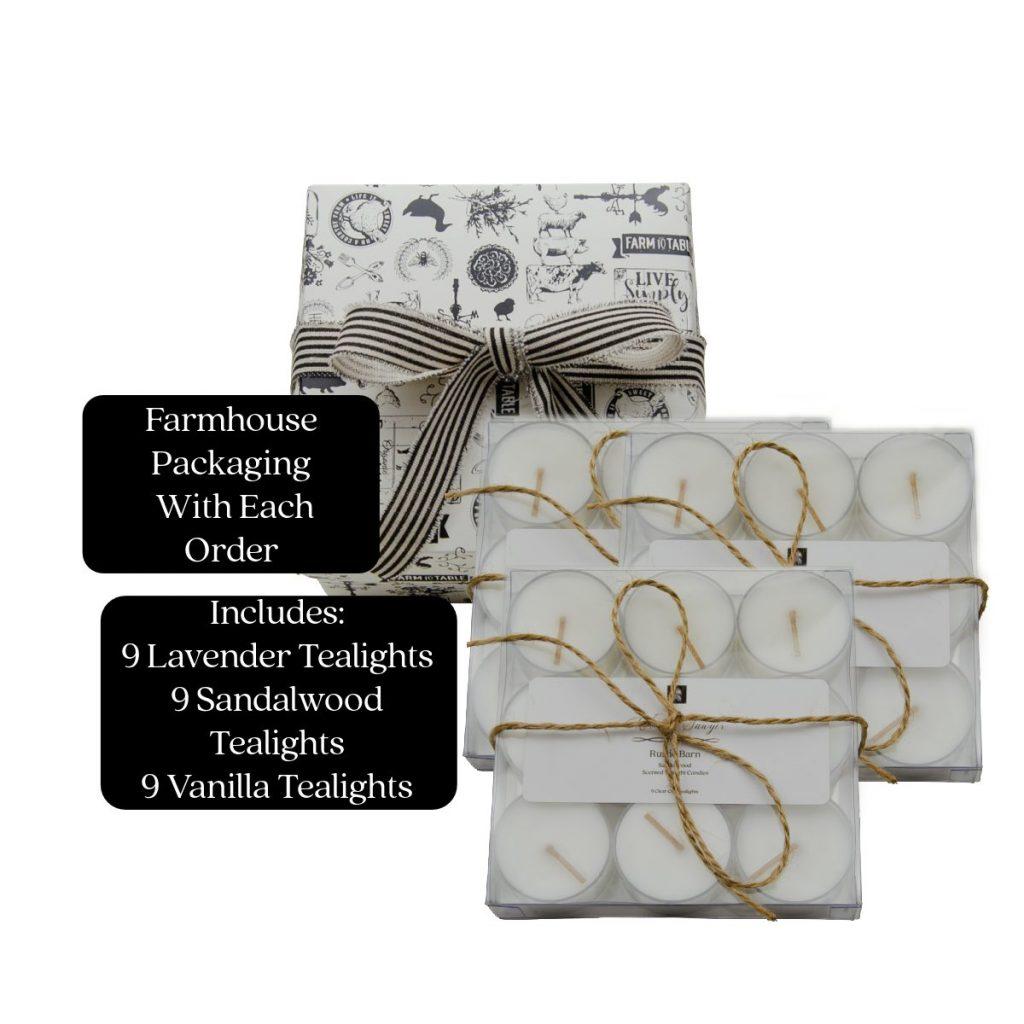 tealight gift set