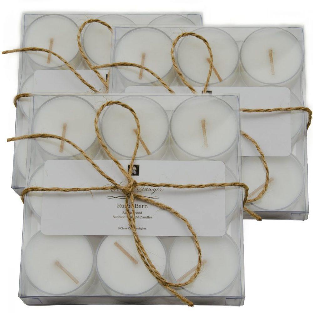 aromatherapy tealight gift set
