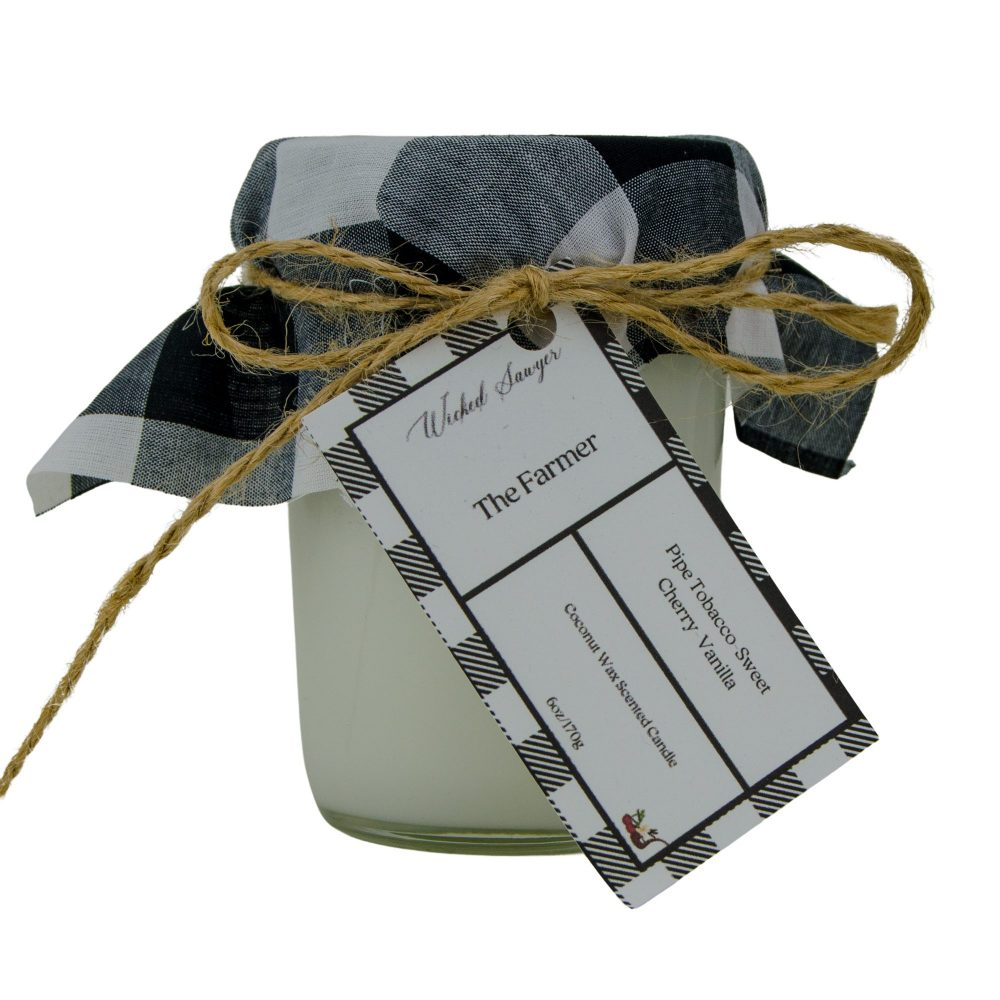 The Farmer-Pipe Tobacco Manly Scented Candle