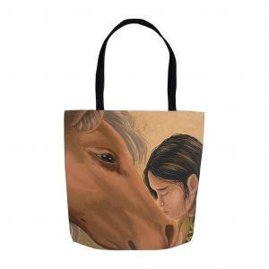 American Indian woman tote