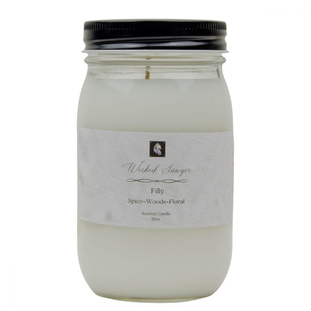 candle strong scented